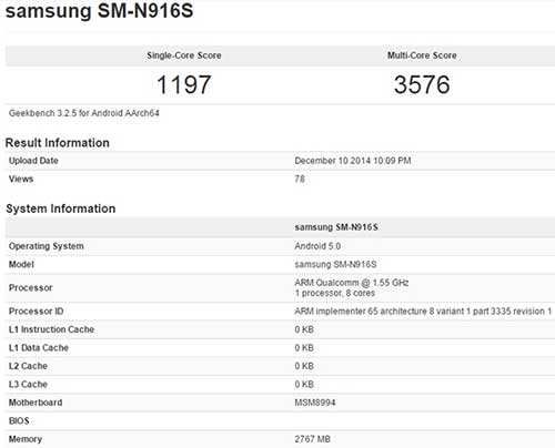 "sap co galaxy note 4 dung chip ""khung"" snapdragon 810 - 2"