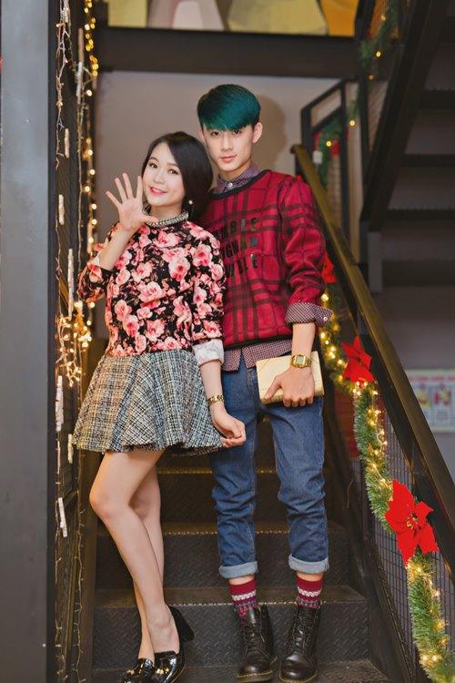 giai nhan viet dua nhau khoe sac chao don noel - 19