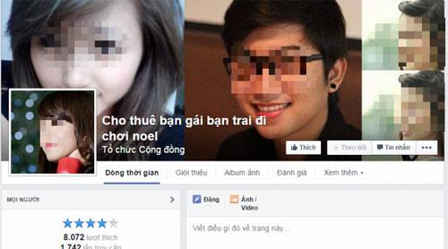 """dich vu cho thue nguoi yeu di choi noel """"no ro"""" - 1"""