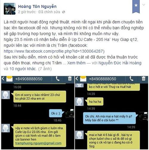 muon facebook doi no: showbiz viet 'ha be' nhau de doi tien? - 6