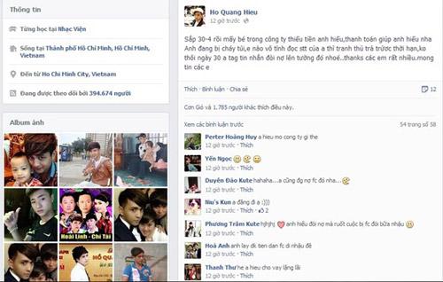muon facebook doi no: showbiz viet 'ha be' nhau de doi tien? - 5
