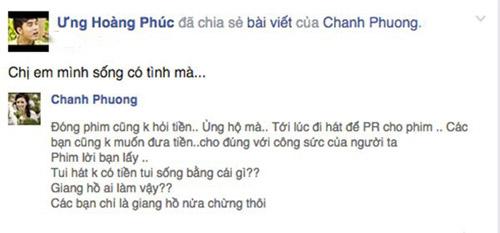 muon facebook doi no: showbiz viet 'ha be' nhau de doi tien? - 7