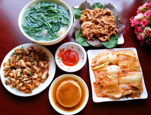 bua com 105.000 dong: mon nao cung hap dan - 1