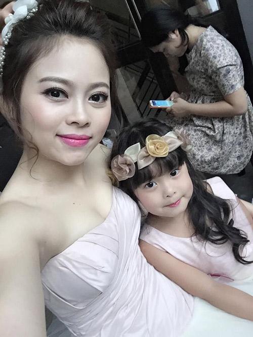 single mom ha thanh xinh dep lan thu 2 mac vay cuoi vi con - 12