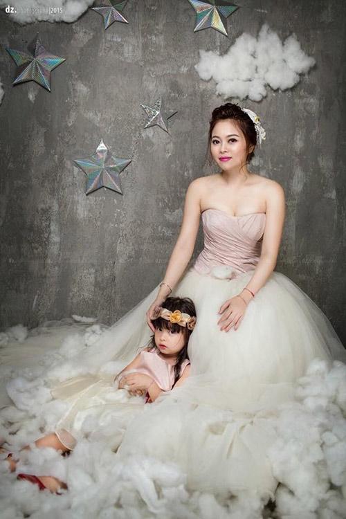 single mom ha thanh xinh dep lan thu 2 mac vay cuoi vi con - 8