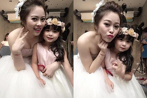 single mom ha thanh xinh dep lan thu 2 mac vay cuoi vi con - 13