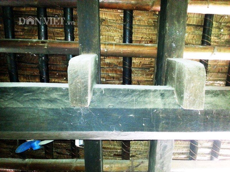 Chiêm ngưỡng ngôi nhà sàn cổ bằng gỗ quý hiếm ở xứ Thanh-11