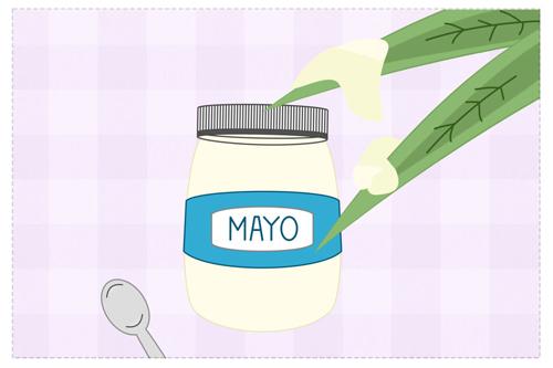 Mayonnaise sáng nhà, mềm da tay-2