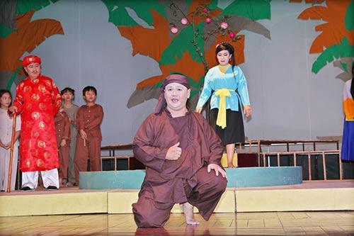 Minh Béo lần đầu thử hát cải lương-4