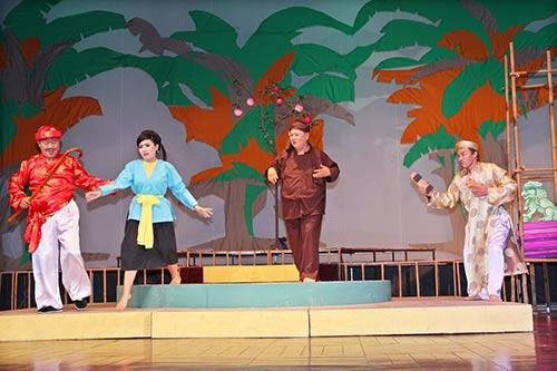 Minh Béo lần đầu thử hát cải lương-8