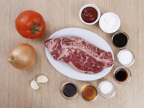 Thịt bò sốt cà chua ngon cơm-1