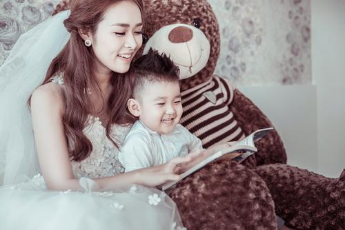Diệp Bảo Ngọc bất ngờ khoe ảnh cưới với con trai-11