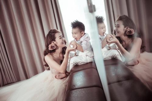 Diệp Bảo Ngọc bất ngờ khoe ảnh cưới với con trai-4