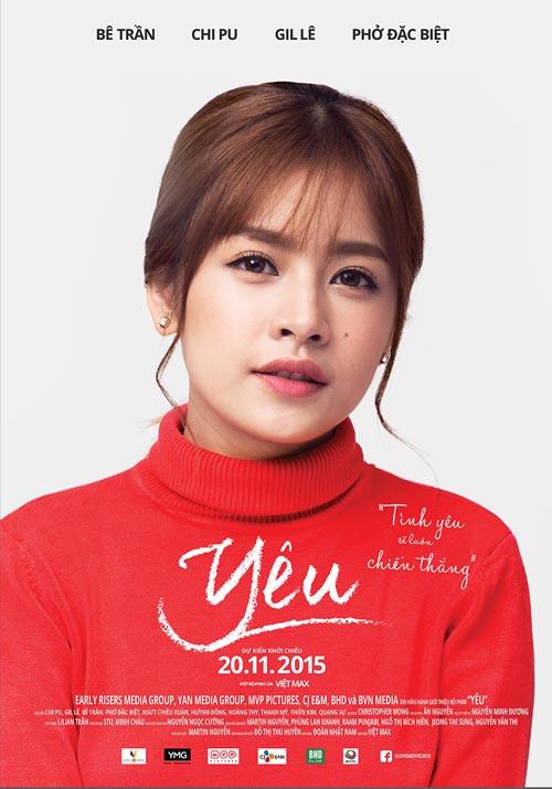 phim tinh cam cua chi pu - gil le tung poster chinh thuc - 2
