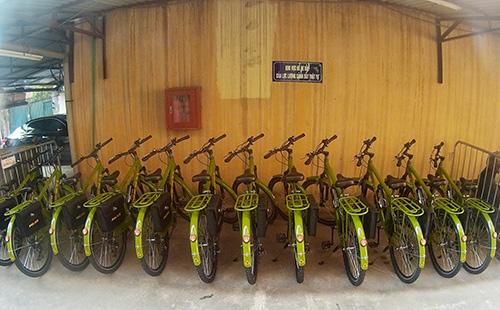 Cận cảnh xe đạp mới nâng cấp của công an Hà Nội-1