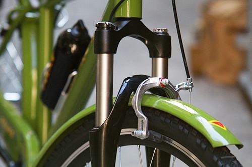 Cận cảnh xe đạp mới nâng cấp của công an Hà Nội-7