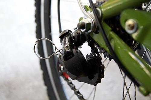 Cận cảnh xe đạp mới nâng cấp của công an Hà Nội-5