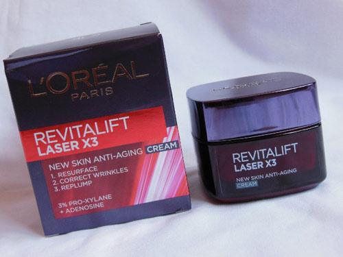 Đánh giá L'Oréal Revitalift Laser X3 dành cho phụ nữ tuổi 30-1