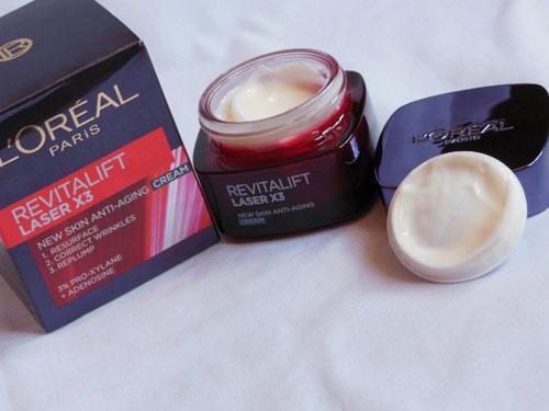 Đánh giá L'Oréal Revitalift Laser X3 dành cho phụ nữ tuổi 30-5
