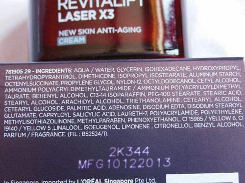 Đánh giá L'Oréal Revitalift Laser X3 dành cho phụ nữ tuổi 30-6