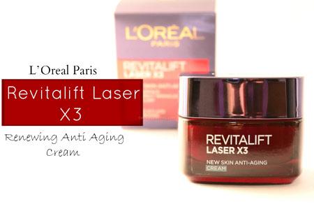 Đánh giá L'Oréal Revitalift Laser X3 dành cho phụ nữ tuổi 30-9