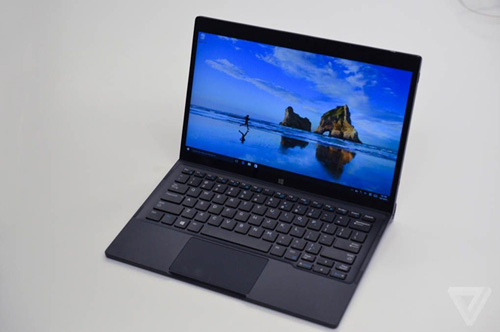 "xps 12 moi cua dell dung nam cham de ""bien hinh"" tu tablet thanh laptop - 2"