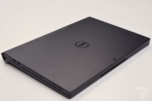 "xps 12 moi cua dell dung nam cham de ""bien hinh"" tu tablet thanh laptop - 10"
