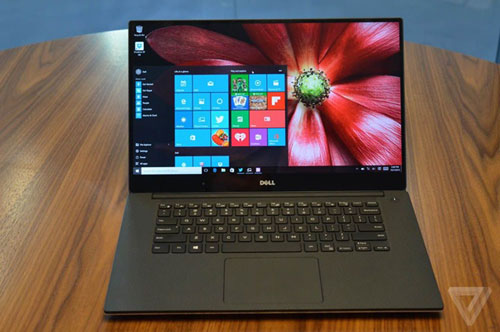 dell ra mat laptop xps 15 voi man hinh sat canh - 1