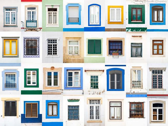 Tường trắng là đặc trưng ởAlbufeira, Bồ Đào Nha