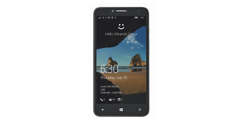 chiem nguong smartphone chay windows 10 cua alcatel - 1