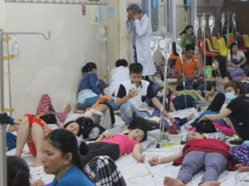 binh duong: hon 130 cong nhan nhap vien vi ngo doc thuc pham - 1
