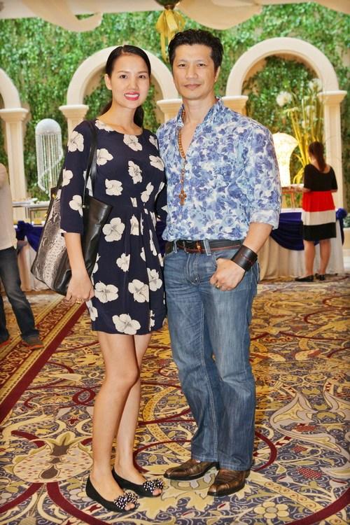 Bebe Phạm hạnh phúc bên ông xã Dustin Nguyễn-2