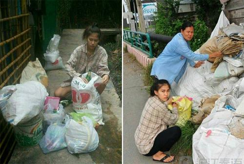 Cô gái nhặt rác bất ngờ trở thành Hoa hậu tại Thái Lan-2