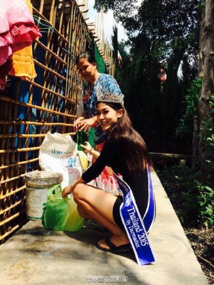Cô gái nhặt rác bất ngờ trở thành Hoa hậu tại Thái Lan-3