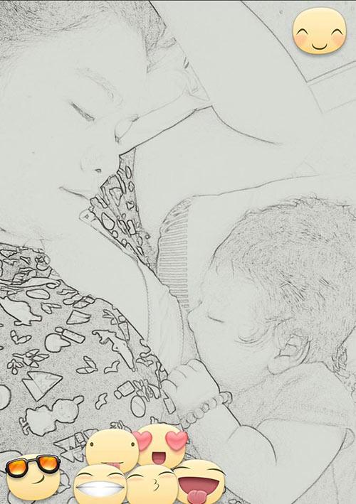 Nhật Kim Anh khoe khéo con trai hơn 1 tháng tuổi-2