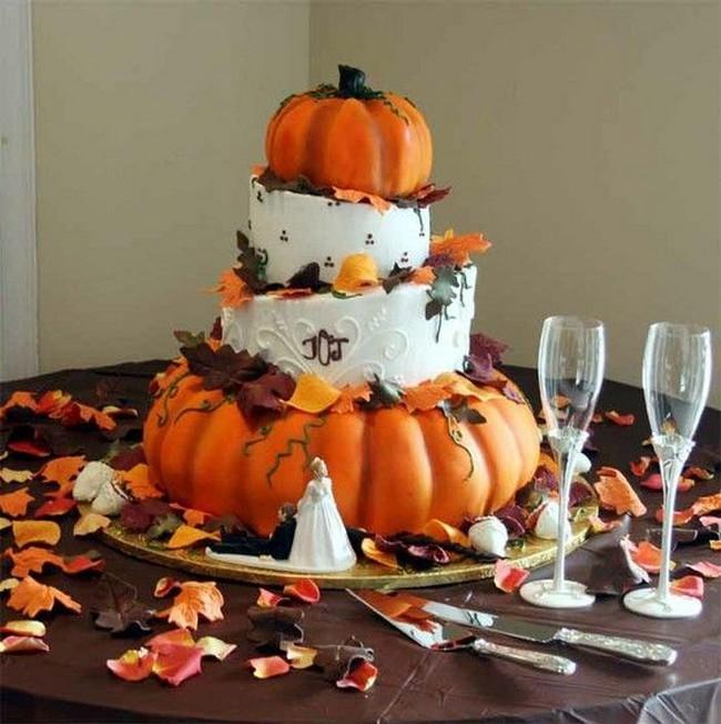 Rùng rợn với những chiếc bánh cưới Halloween-13