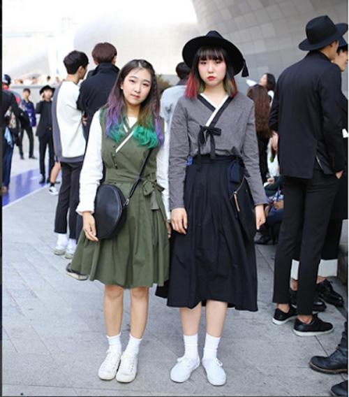 """""""giai ma"""" con sot hanbok duong pho cua gioi tre xu kim chi - 10"""