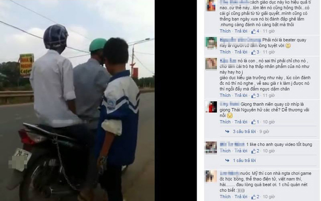 clip: xich con vao xe may keo tren duong vi… game - 2