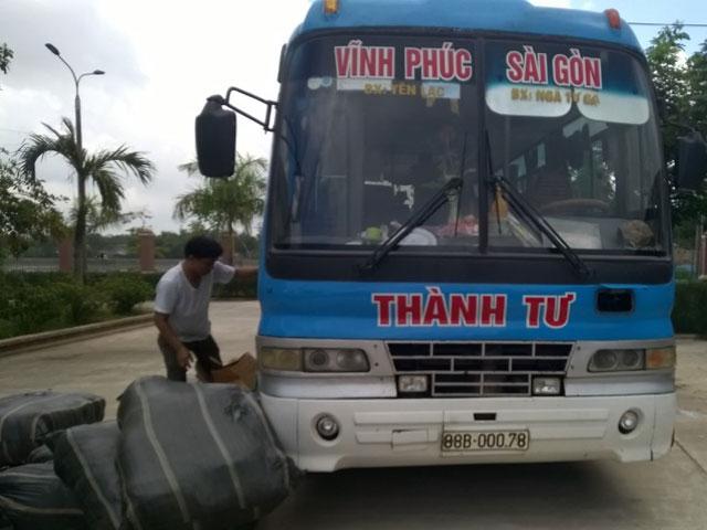 """bat qua tang dao, kiem nhat """"di"""" xe khach vao tphcm - 2"""