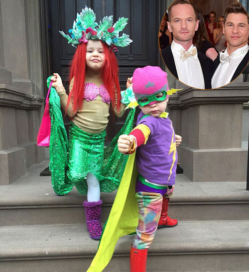 harper dien do diem dua di don halloween - 5