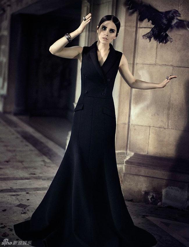 Emma Watson trên tạp chí Vogue