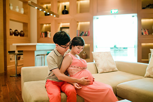 """""""lay chong han, khi bau bi toi duoc cham tung li tung ti!"""" - 11"""