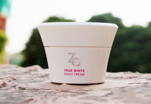 danh gia hu kem duong trang za true white night cream - 2