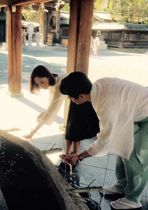 lan phuong rang ro di cong tac tai dao okinoshima - 3