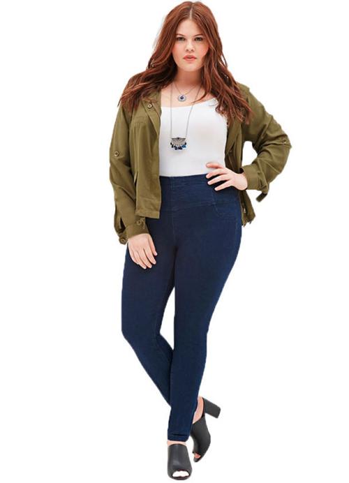 5 cach mac skinny jeans that dep cho nang dui to - 4