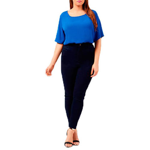 5 cach mac skinny jeans that dep cho nang dui to - 3