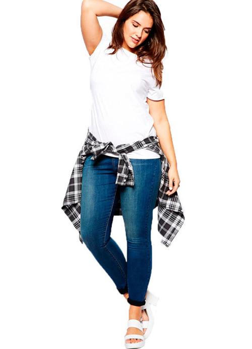 5 cach mac skinny jeans that dep cho nang dui to - 2