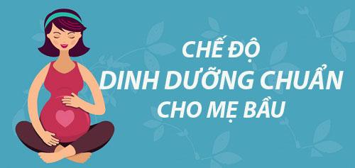 thuc don 'chuan khong can chinh' cho me bau - 1