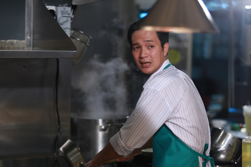 masterchef vn: ap luc cang thang, pham tuyet muon danh lon voi quoc viet - 6