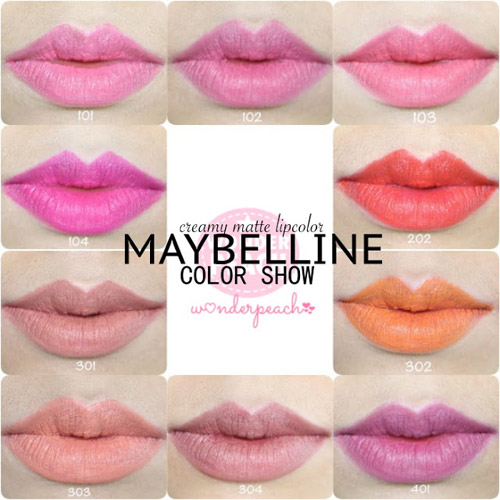 danh gia maybelline color show creamy matte lipcolor - 3